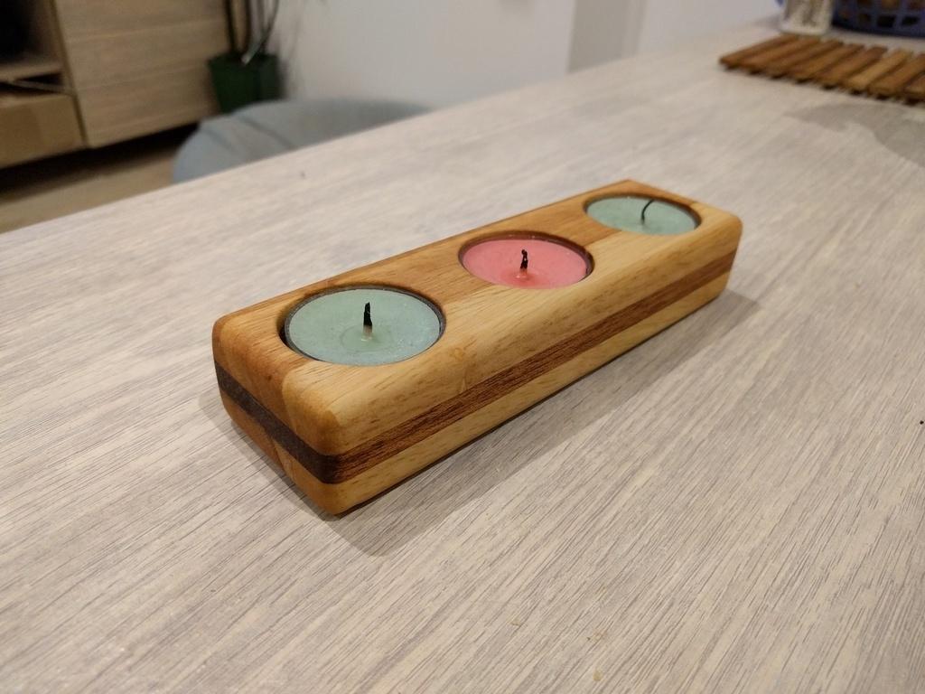 bougeoir par aeth sur l 39 air du bois. Black Bedroom Furniture Sets. Home Design Ideas