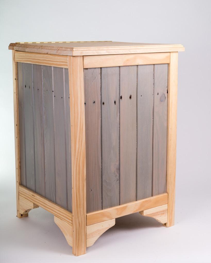 panier linge par atelier bois couleur sur l 39 air du bois. Black Bedroom Furniture Sets. Home Design Ideas