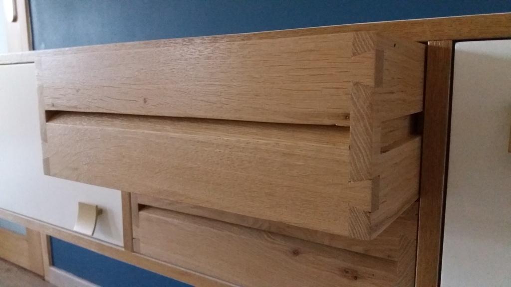 Meuble d 39 entr e par camema sur l 39 air du bois for Assemblage meuble mdf