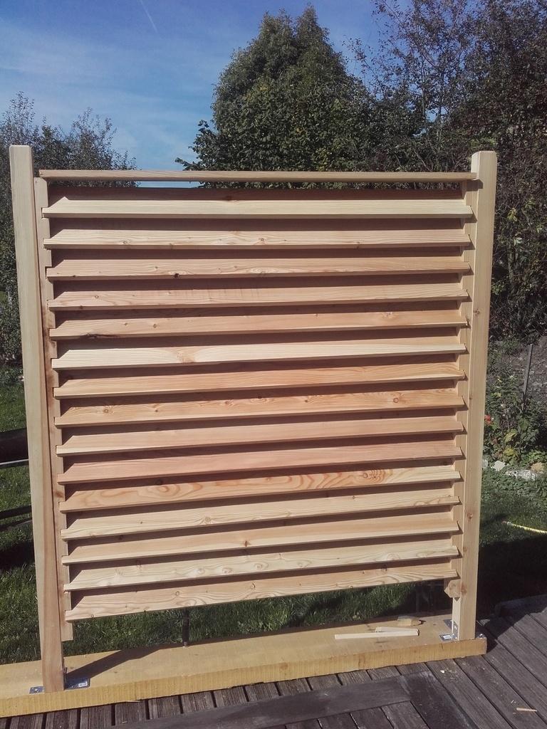 Fabriquer Un Brise Vue Bois pas à pas] brise vue par becbois sur l'air du bois