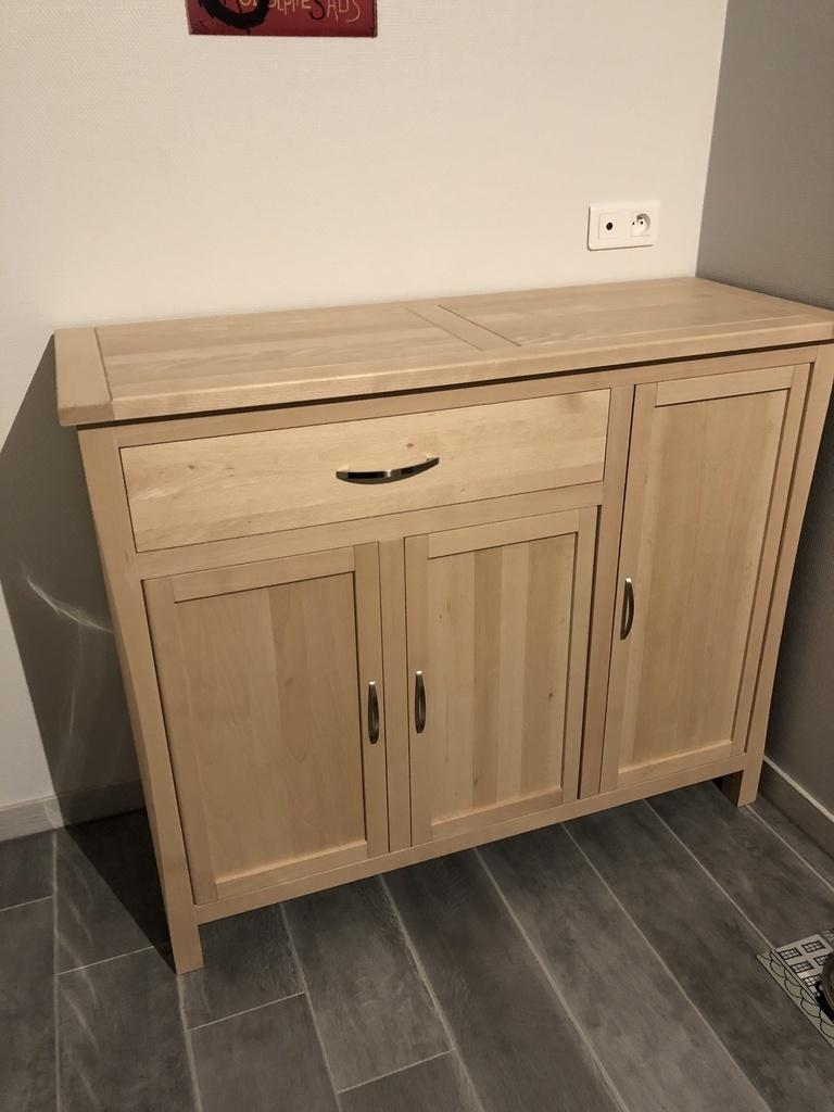 bahut de cuisine par alexp67 sur l 39 air du bois. Black Bedroom Furniture Sets. Home Design Ideas