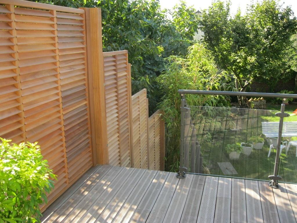 Terrasse En Bois Exotique à Villiers Sur Marne Par Technobat