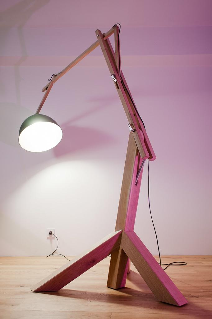 Bois L'air Lampe Giraf Sur Ateliera Par Du m8OwPvNny0