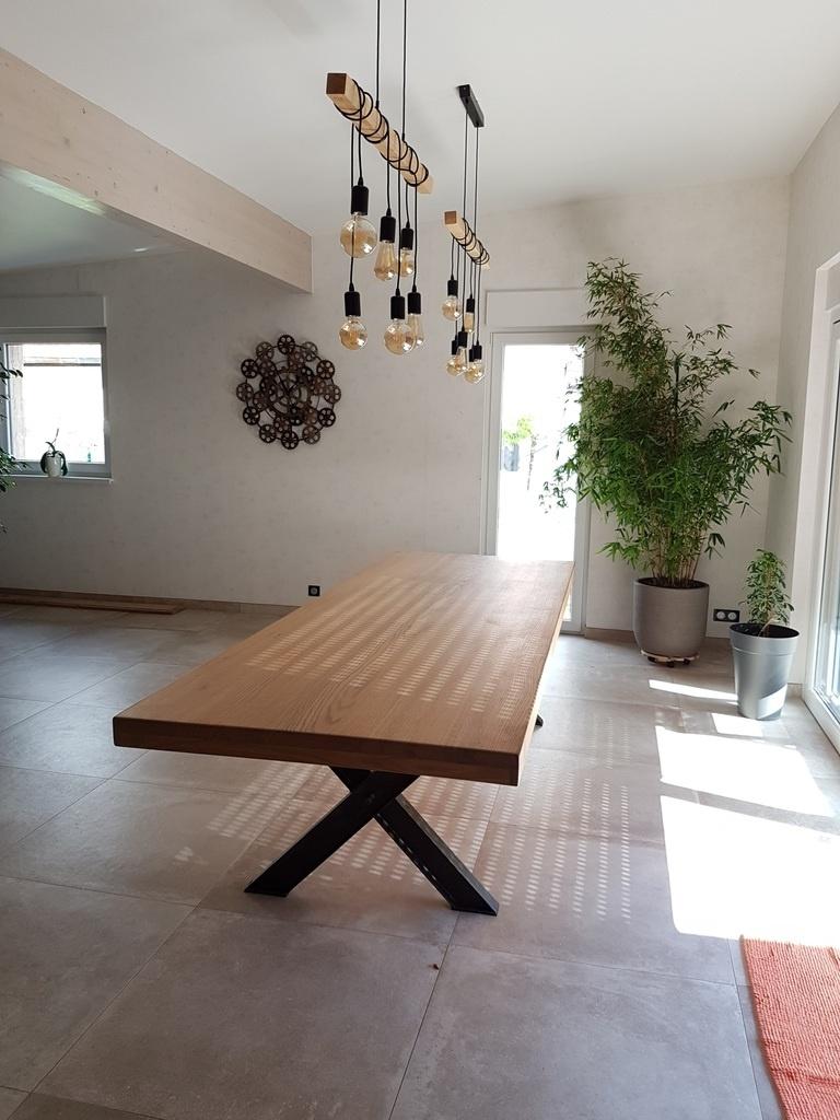 Pas A Pas Fabrication D Une Table De Salle A Manger En Chene Avec