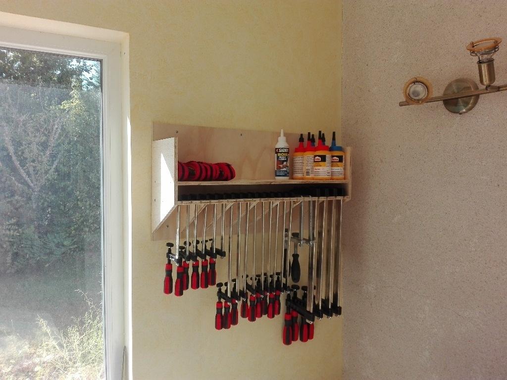 Un rack a serres joint en bois de palette par arno88 sur l'air du bois