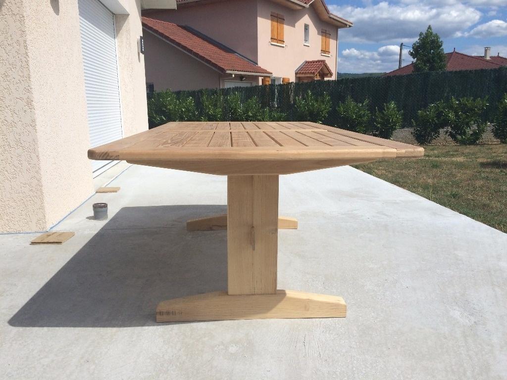table acacia jardin