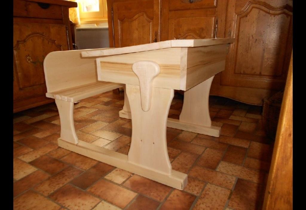 Bureau d 39 colier par niconathy sur l 39 air du bois - Petit bureau ecolier en bois ...