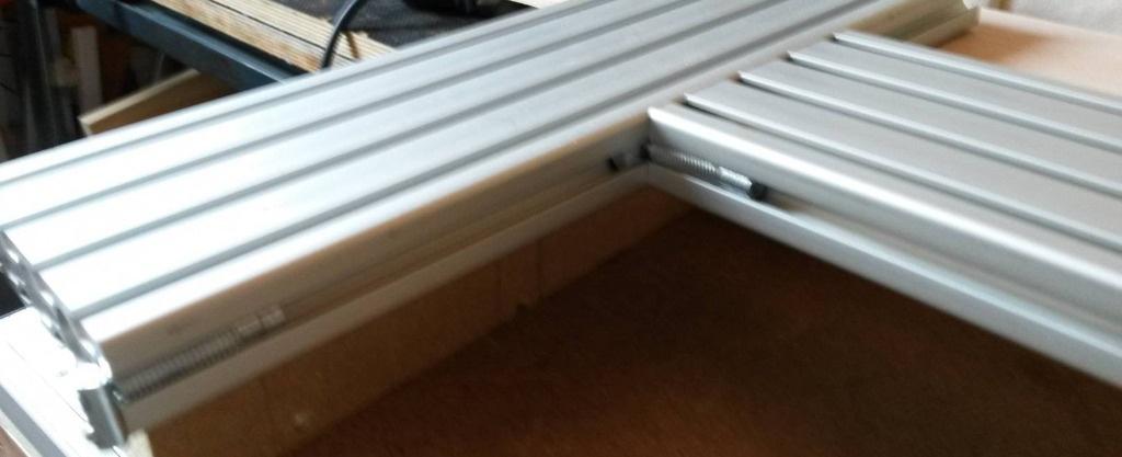 Gabarit en aluminium pour d/éfonceuse /à bois