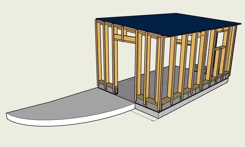 Plan Extension Garage Par Stefdefoot Sur L Air Du Bois