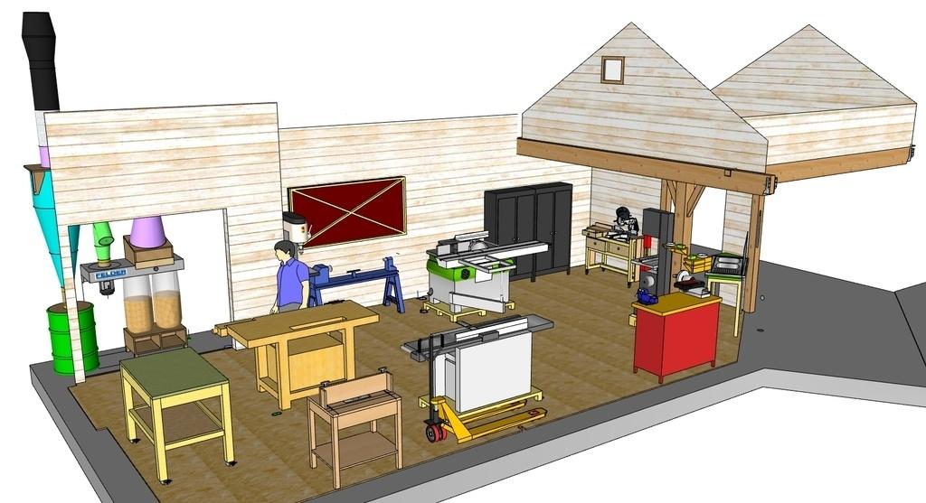 plan mezzanine bois joy studio design gallery best design. Black Bedroom Furniture Sets. Home Design Ideas
