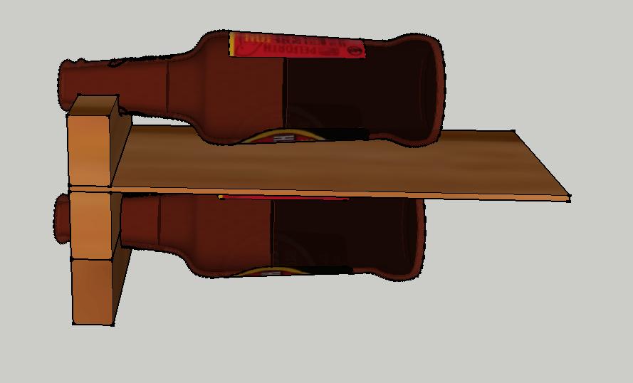casier de bouteilles