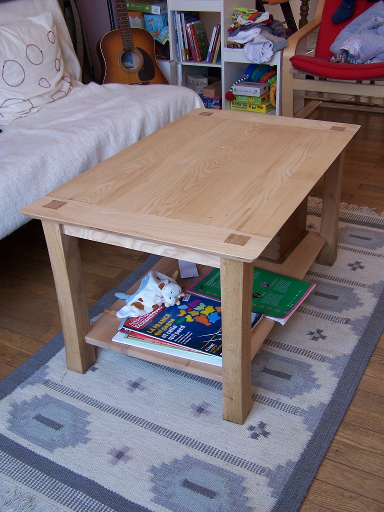 Table Basse Sans Clou Ni Vis Ni Colle Par Riton Sur L Air Du