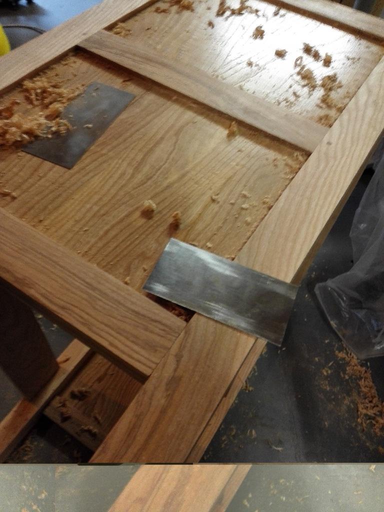 Pas pas partie 1 meuble de sdb sous vasque en fr ne par pierro sur l 39 air du bois - Comment enlever des traces de colle ...