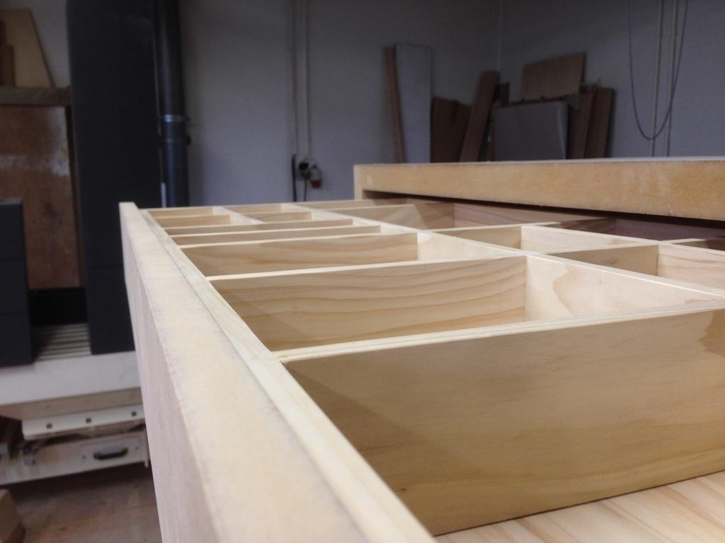Bureau en mdf et tiroir en sapin par thomas sur l air du bois