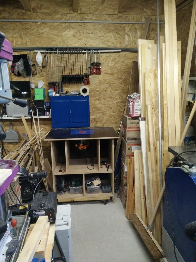 Mon Garage Atelier Enfin Par Jomaro74 Sur L Air Du Bois