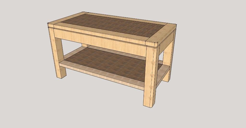Ralisation d une table de salon en chne massif (15) Travailler le bois