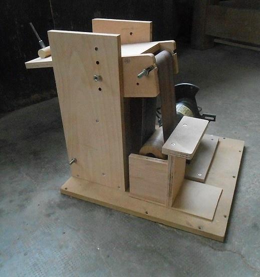 ponceuse bande diy par kentaro sur l 39 air du bois. Black Bedroom Furniture Sets. Home Design Ideas