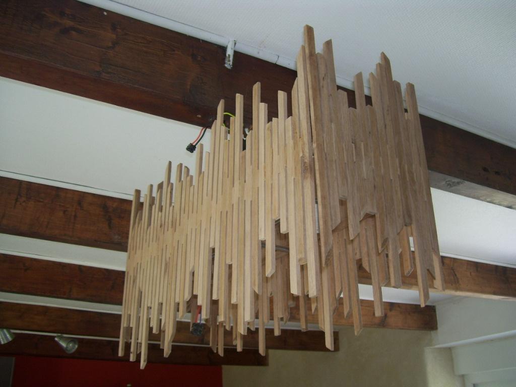 lustre en bois flotte. Black Bedroom Furniture Sets. Home Design Ideas