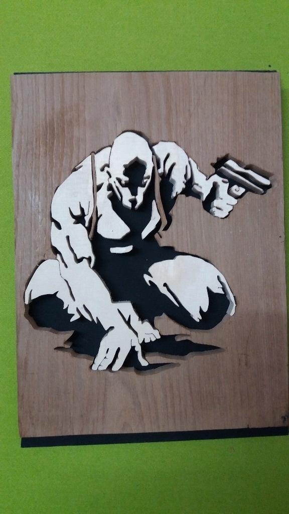 Homme masqué par FREDOUILLE sur LAir du Bois ~ Utilisation Du Bois Par L Homme