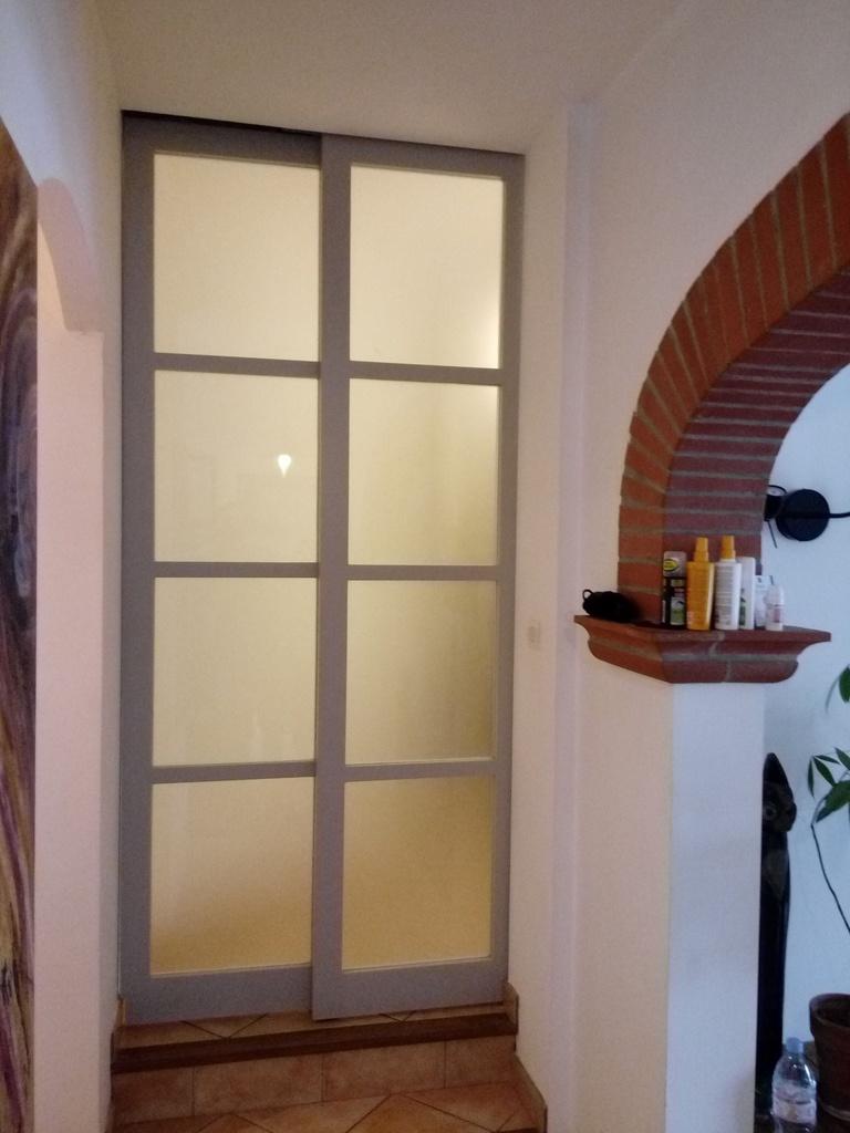 portes t lescopiques par atelier bois couleur sur l 39 air du bois. Black Bedroom Furniture Sets. Home Design Ideas