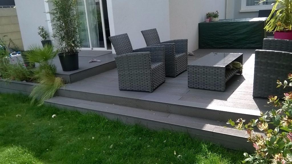terrasse composite par slick sur l 39 air du bois. Black Bedroom Furniture Sets. Home Design Ideas