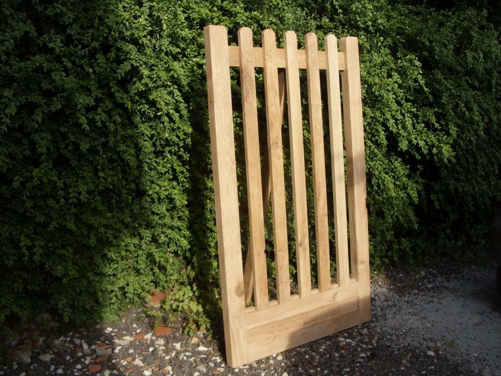 portillon de jardin par riquet18x4 sur l 39 air du bois. Black Bedroom Furniture Sets. Home Design Ideas