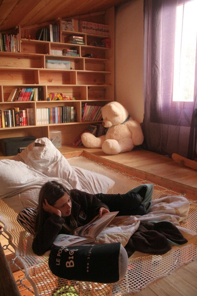 mezzanine filet par freddesgranges sur l 39 air du bois. Black Bedroom Furniture Sets. Home Design Ideas