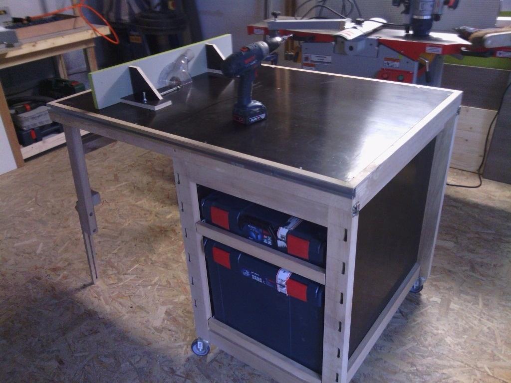 Construire Un Etabli Multifonction Établi multifonction pliant par l'atelier vosgien sur l'air