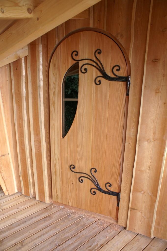 Porte de cabane par boris beaulant sur l 39 air du bois - Porte cabane bois ...