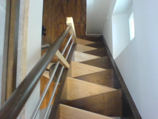Pas pas petit trait d escaliers pour l air du bois par sylvainlefrancomtois sur l 39 air du bois - Escalier pas japonais tournant ...