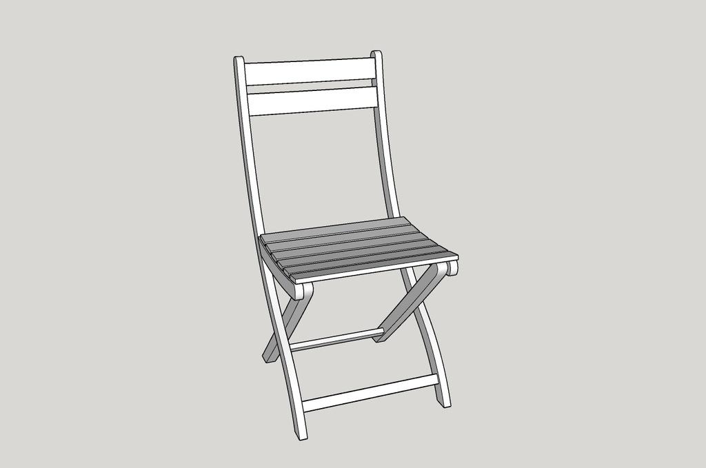 plan chaise salon de jardin par mdsvdm sur lair du bois