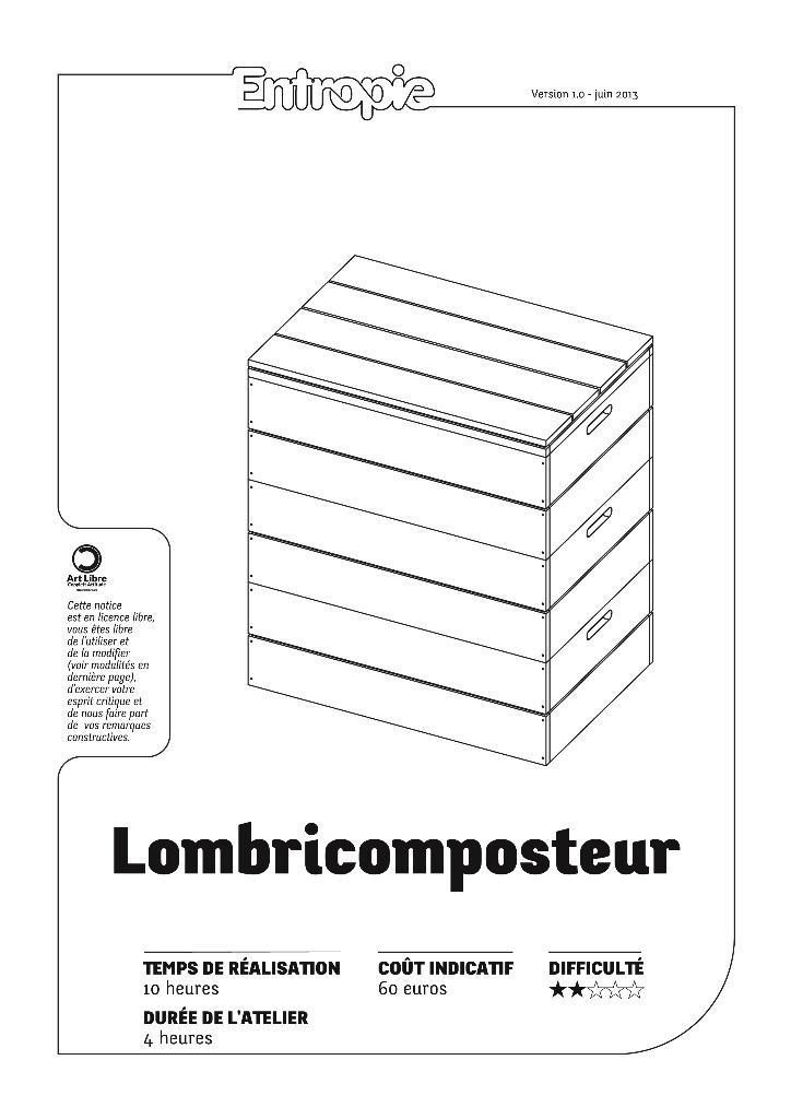 plan lombricomposteur par entropie sur l 39 air du bois. Black Bedroom Furniture Sets. Home Design Ideas