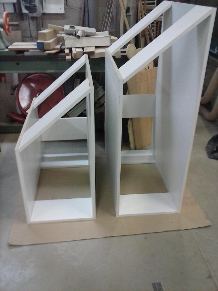meuble sous escalier par creation bois sur l 39 air du bois. Black Bedroom Furniture Sets. Home Design Ideas