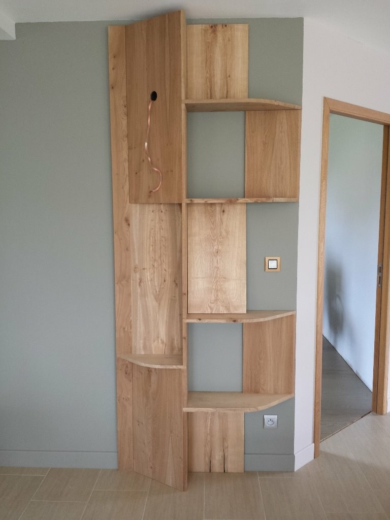pas pas un meuble tag re en orme par benji791 sur l 39 air du bois. Black Bedroom Furniture Sets. Home Design Ideas