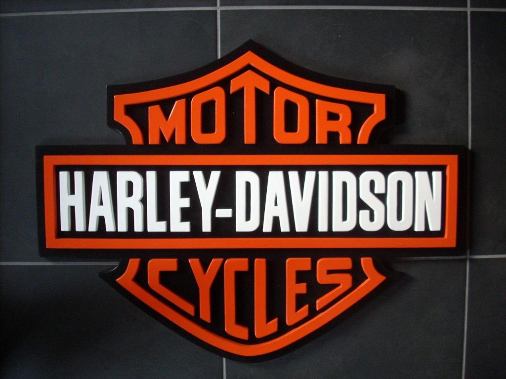 Sigle harley davidson par bricoconseil sur l 39 air du bois - Sigle harley davidson ...