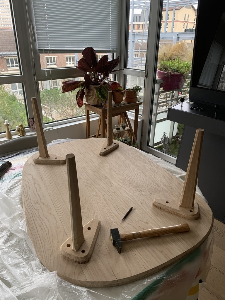 table pour rabot degauchisseuse