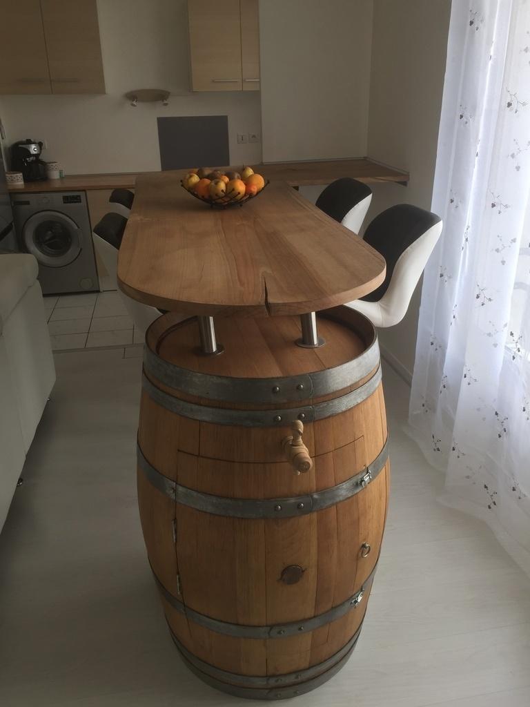 Comment Renover Un Tonneau bar - tonneau par scuunk sur l'air du bois