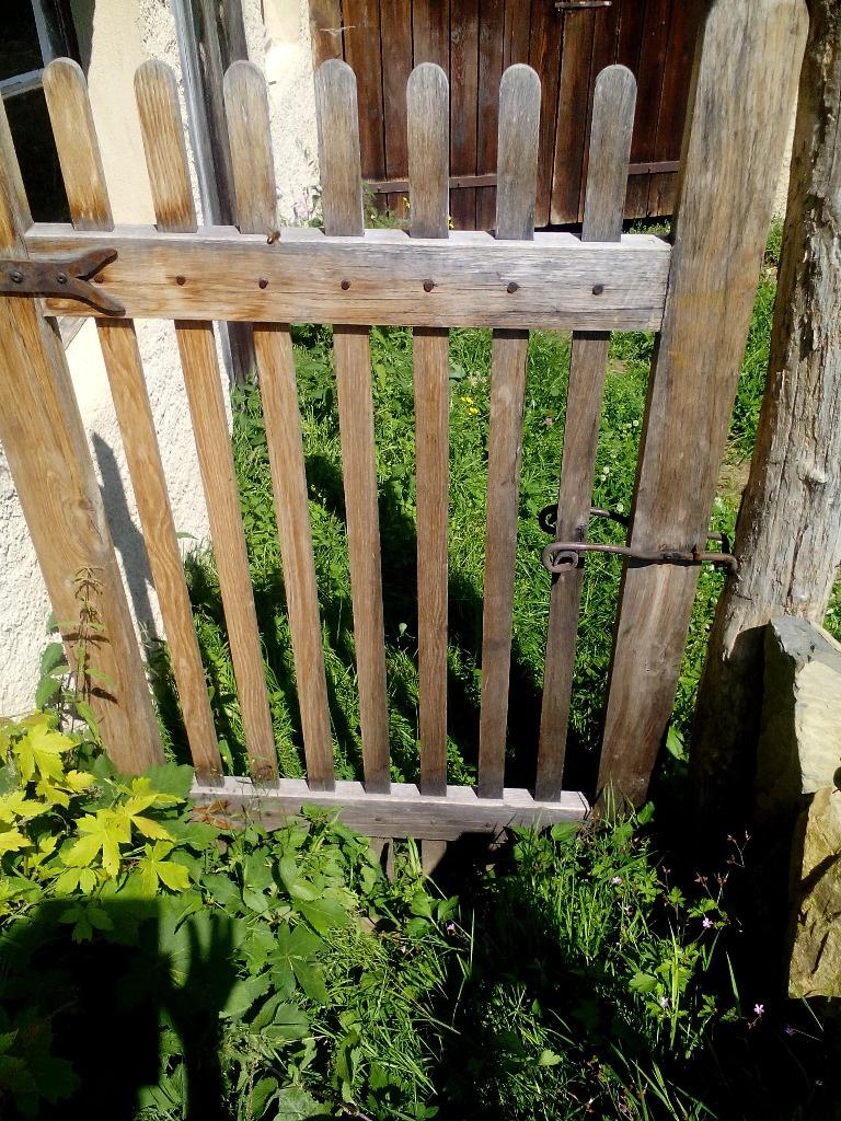 Petit portail de jardin par boisdefer sur l 39 air du bois - Portail de jardin ...