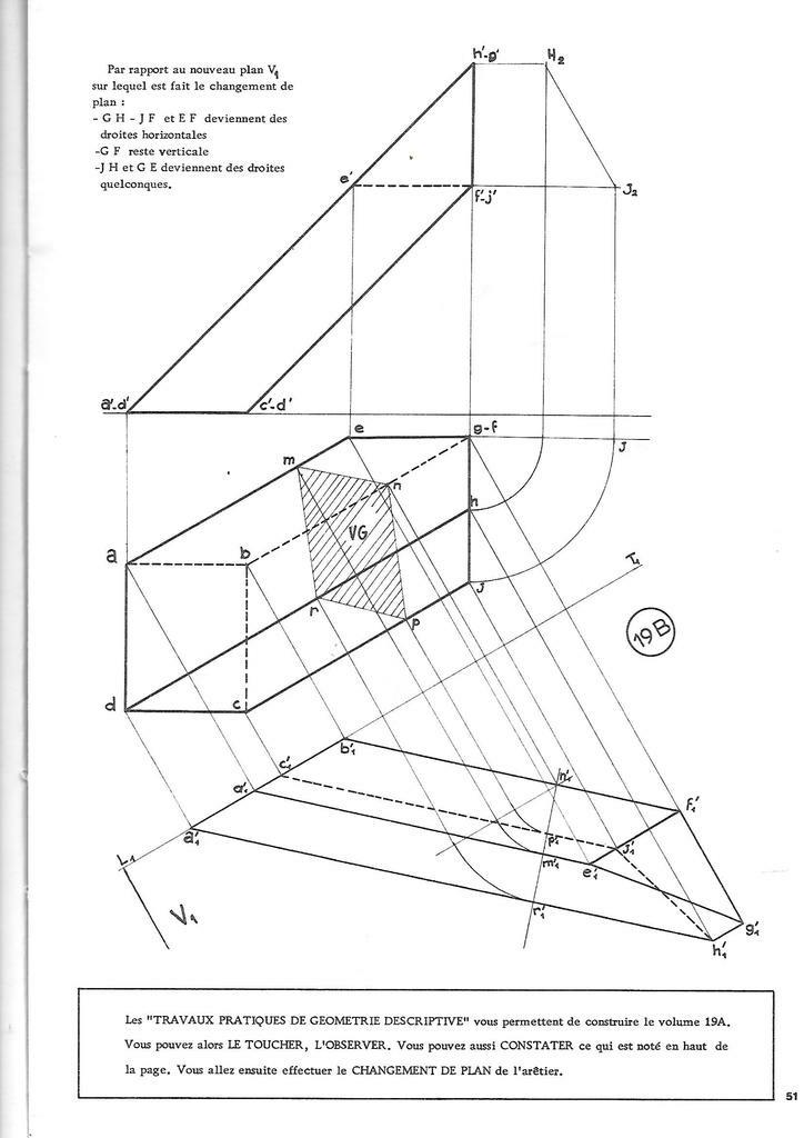 vingt le ons de g om trie descriptive appliqu e au dessin de andr ricordeau sur l 39 air du bois. Black Bedroom Furniture Sets. Home Design Ideas
