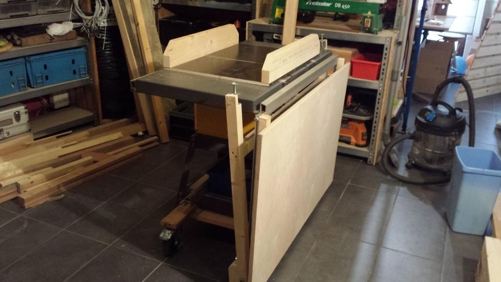 extension amovible de scie sous table par vic66 sur l 39 air. Black Bedroom Furniture Sets. Home Design Ideas