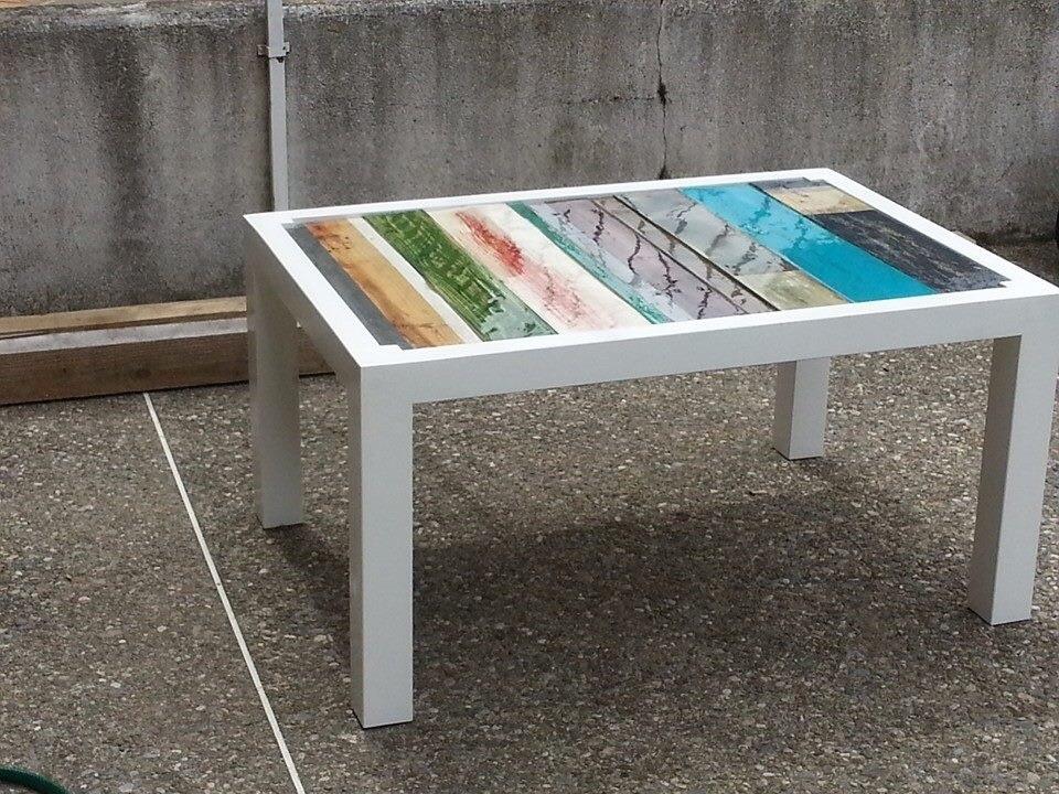 table basse palette design par mirepoix designs sur l 39 air du bois. Black Bedroom Furniture Sets. Home Design Ideas