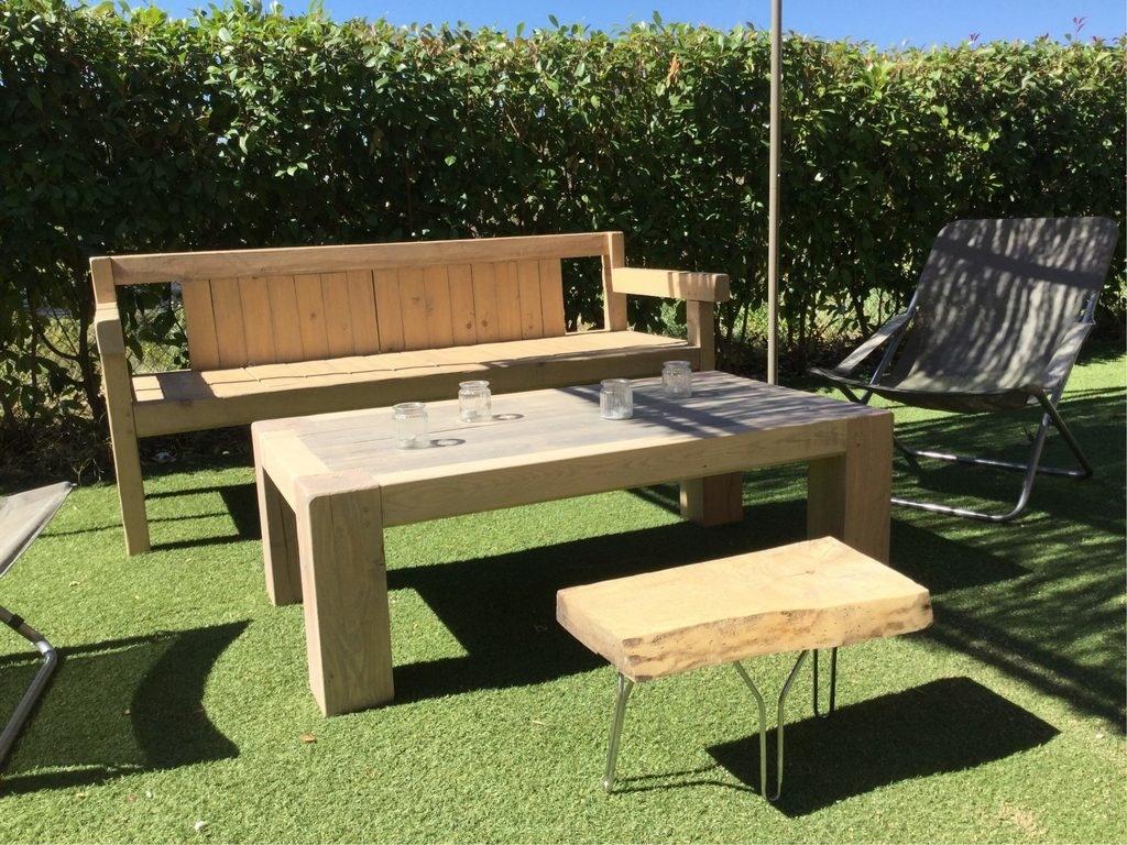 table basse jardin par lobfrontaldjack sur l 39 air du bois. Black Bedroom Furniture Sets. Home Design Ideas