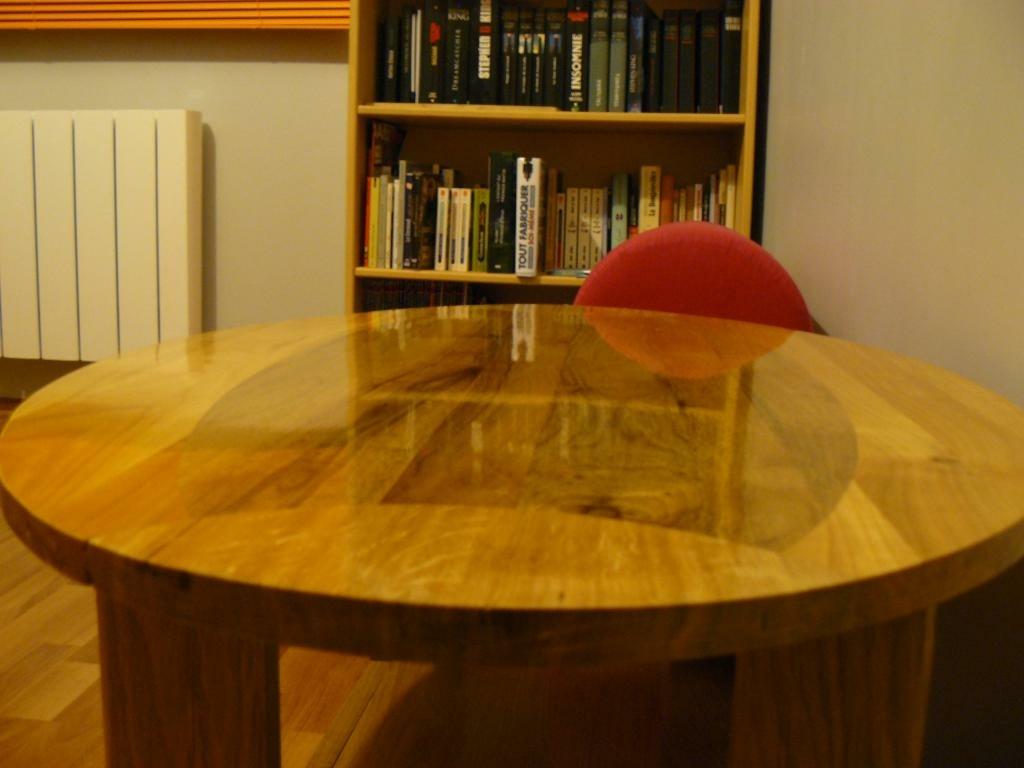 Table de salon rugbyman par davidoffo sur l 39 air du bois - Vernis pour table ...
