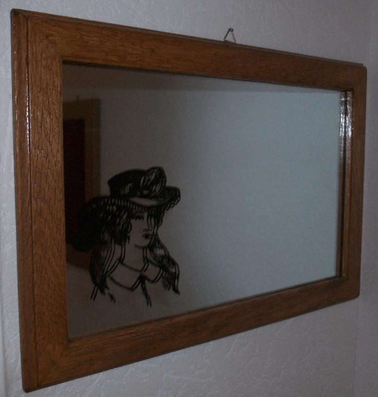 Miroirs par deco bois sur l 39 air du bois for Miroir deco bois