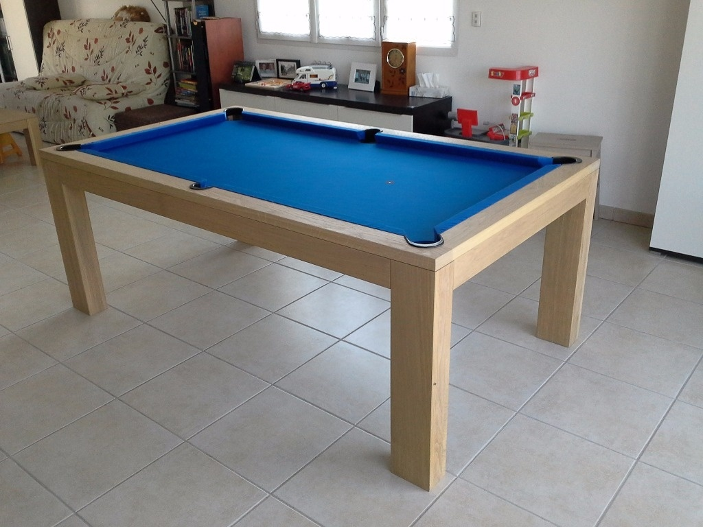 billard table salle a manger par fabio38 sur l 39 air du bois. Black Bedroom Furniture Sets. Home Design Ideas