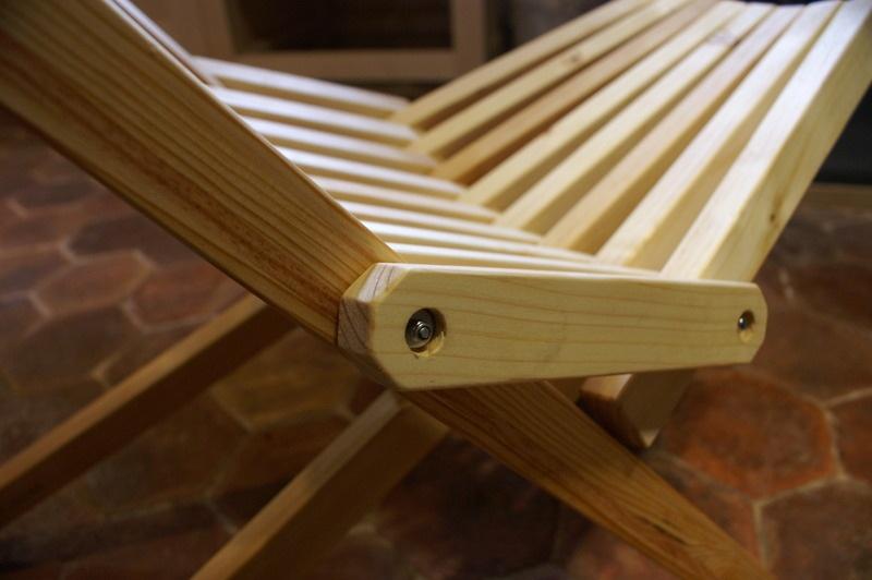 Pas pas fabrication d 39 une chaise pliante par zeloko sur l 39 air du - Comment fabriquer une chaise en bois ...