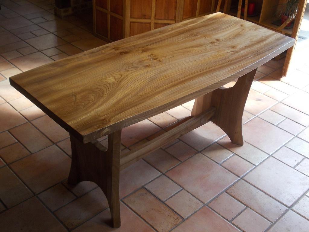 table de s jour par siloe sur l 39 air du bois. Black Bedroom Furniture Sets. Home Design Ideas