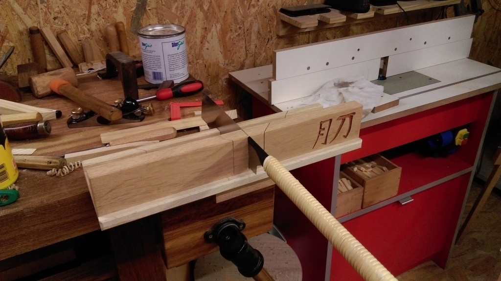 boite a coupe pour scie japonaise par l atelier vosgien sur l 39 air du bois. Black Bedroom Furniture Sets. Home Design Ideas
