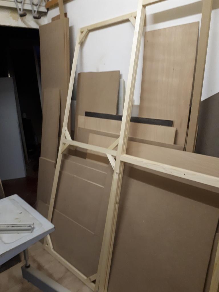 Fabrication sur mesure meuble de rangement alimentaire - Creation de meuble sur mesure ...