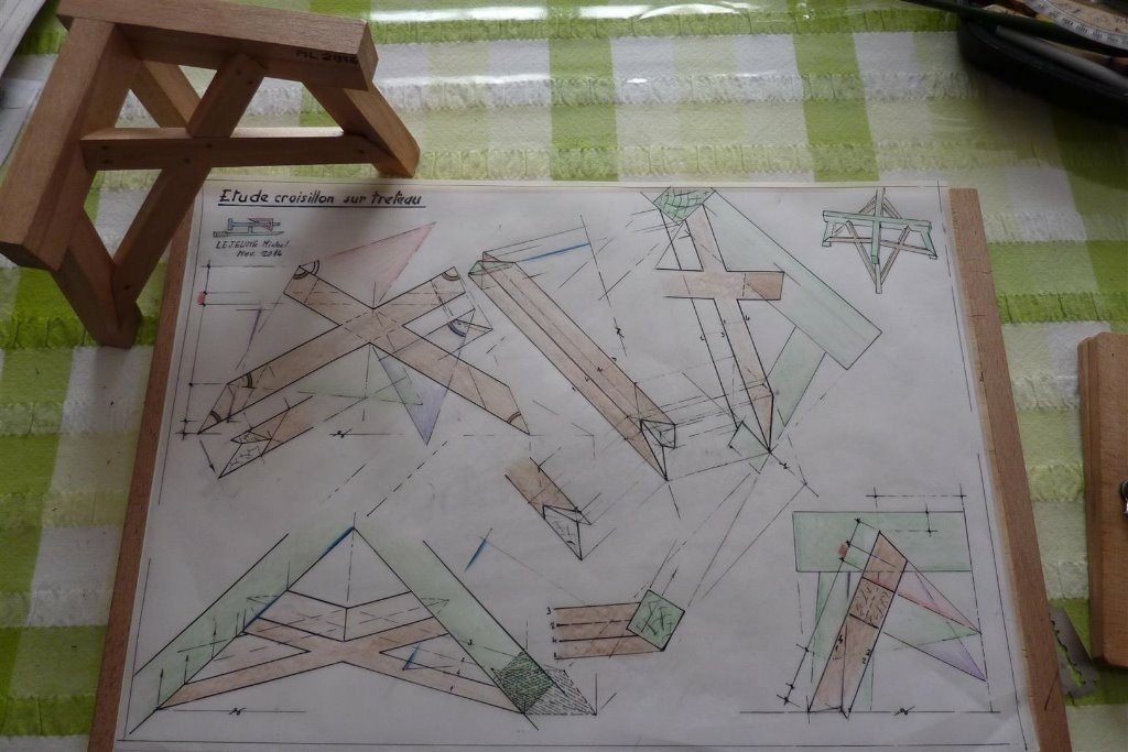 Croix de st andre naomi dominatrice - 3 4
